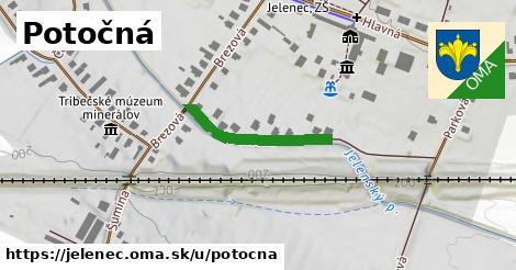 ilustrácia k Potočná, Jelenec - 236m