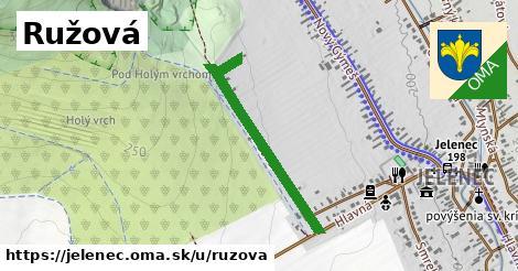 ilustrácia k Ružová, Jelenec - 154m