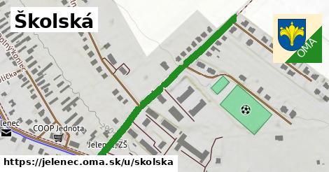 ilustrácia k Školská, Jelenec - 423m
