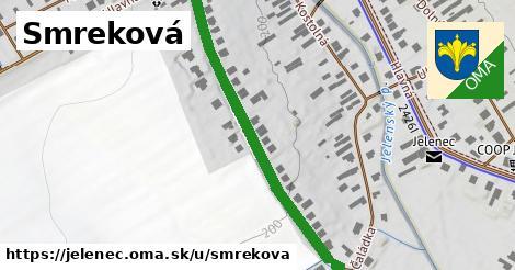 ilustrácia k Smreková, Jelenec - 515m