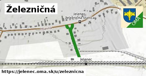 ilustrácia k Železničná, Jelenec - 217m