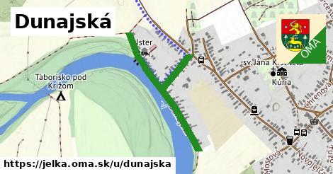 ilustrácia k Dunajská, Jelka - 525m