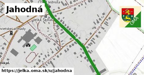 ilustrácia k Jahodná, Jelka - 489m