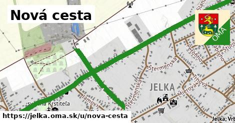 ilustrácia k Nová cesta, Jelka - 1,59km