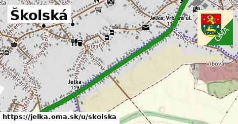 ilustrácia k Školská, Jelka - 2,2km
