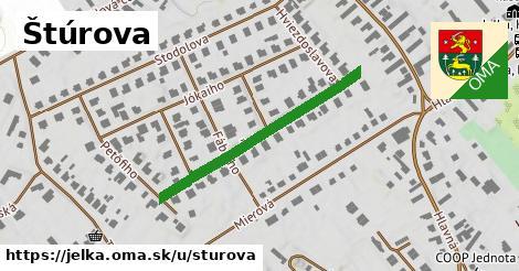 ilustrácia k Štúrova, Jelka - 303m