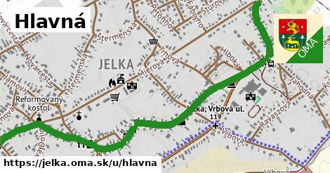 ilustrácia k Hlavná, Jelka - 2,3km