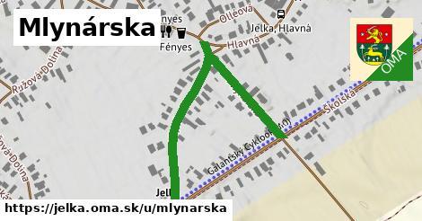 ilustrácia k Mlynárska, Jelka - 514m