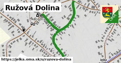 ilustrácia k Ružová dolina, Jelka - 651m