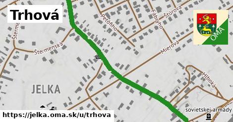 ilustrácia k Trhová, Jelka - 654m
