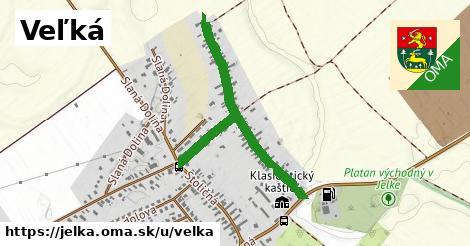 ilustrácia k Veľká, Jelka - 0,90km
