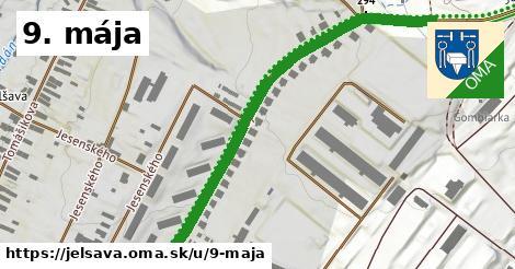 ilustrácia k 9. mája, Jelšava - 495m