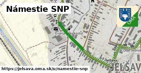 ilustrácia k Námestie SNP, Jelšava - 197m