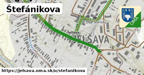 ilustrácia k Štefánikova, Jelšava - 330m