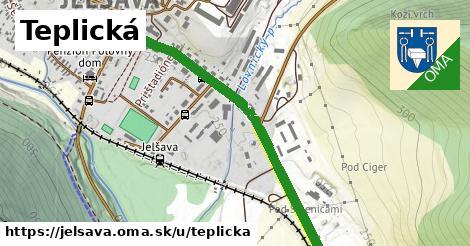 ilustrácia k Teplická, Jelšava - 1,04km