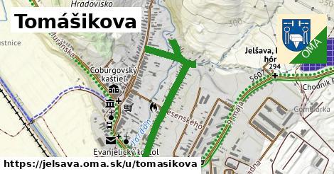 ilustrácia k Tomášikova, Jelšava - 663m