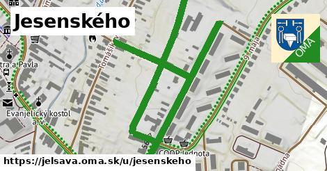 ilustrácia k Jesenského, Jelšava - 1,02km