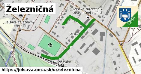 ilustrácia k Železničná, Jelšava - 536m