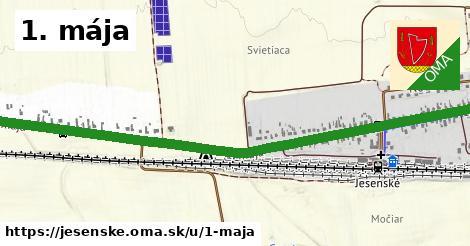 ilustrácia k 1. mája, Jesenské - 2,3km