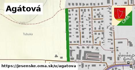 ilustrácia k Agátová, Jesenské - 305m