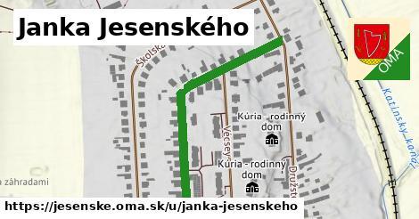 ilustrácia k Janka Jesenského, Jesenské - 452m