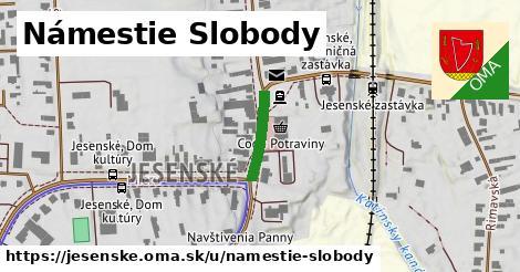 ilustrácia k Námestie slobody, Jesenské - 133m