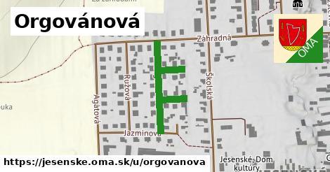 ilustrácia k Orgovánová, Jesenské - 212m