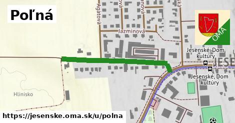 ilustrácia k Poľná, Jesenské - 373m