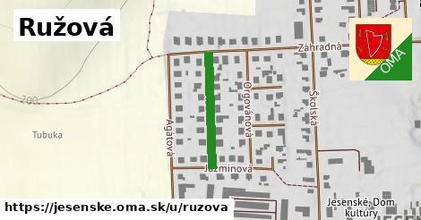 ilustrácia k Ružová, Jesenské - 209m