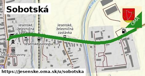 ilustrácia k Sobotská, Jesenské - 331m