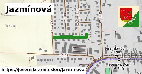ilustrácia k Jazmínová, Jesenské - 209m