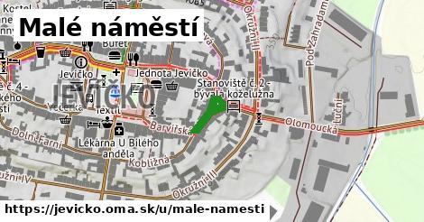 ilustrácia k Malé náměstí, Jevíčko - 126m