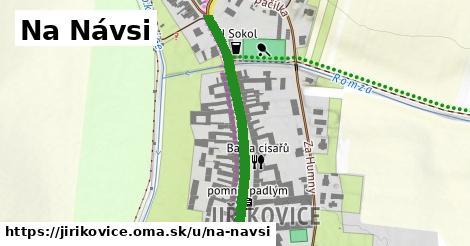 ilustrácia k Na Návsi, Jiříkovice - 359m