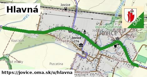 ilustrácia k Hlavná, Jovice - 1,75km