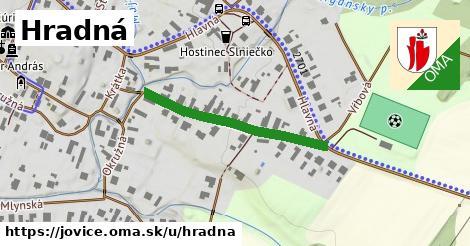 ilustrácia k Hradná, Jovice - 298m