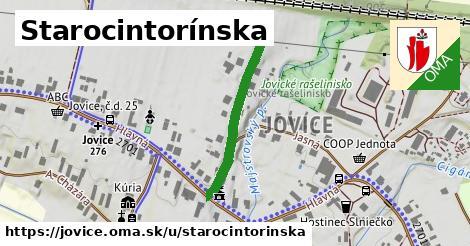 ilustrácia k Starocintorínska, Jovice - 257m