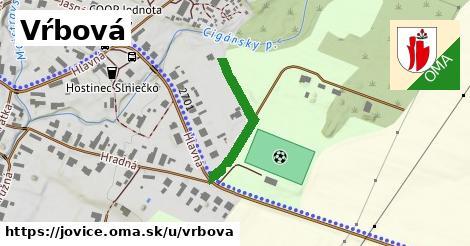 ilustrácia k Vŕbová, Jovice - 240m
