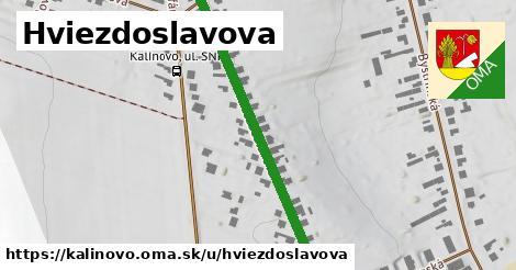 ilustrácia k Hviezdoslavova, Kalinovo - 414m