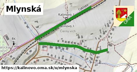 ilustrácia k Mlynská, Kalinovo - 0,75km