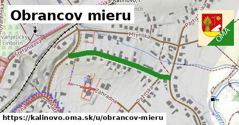 ilustrácia k Obrancov mieru, Kalinovo - 335m