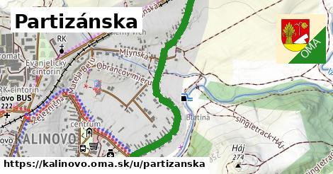 ilustrácia k Partizánska, Kalinovo - 0,95km