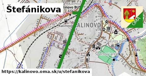 ilustrácia k Štefánikova, Kalinovo - 1,57km