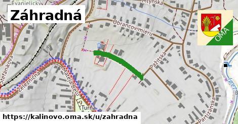 ilustrácia k Záhradná, Kalinovo - 175m