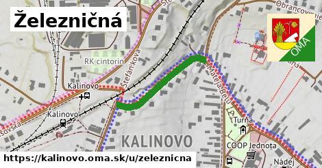 ilustrácia k Železničná, Kalinovo - 487m