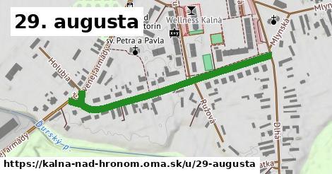 ilustračný obrázok k 29. augusta, Kalná nad Hronom