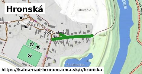 ilustrácia k Hronská, Kalná nad Hronom - 311m