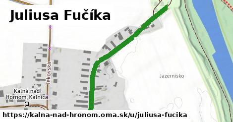 ilustrácia k Juliusa Fučíka, Kalná nad Hronom - 524m