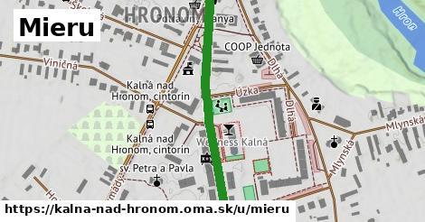 ilustračný obrázok k Mieru, Kalná nad Hronom