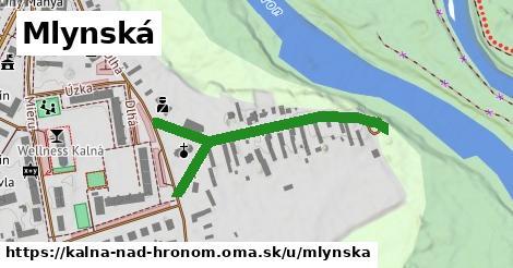 ilustrácia k Mlynská, Kalná nad Hronom - 337m