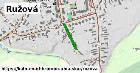 ilustrácia k Ružová, Kalná nad Hronom - 141m